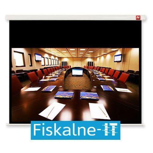 Ekran ścienny business 240 marki Avtek