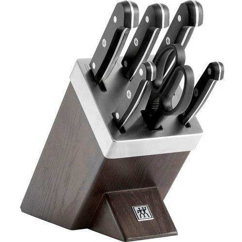 - gourmet zestaw 5 noży w bloku samoostrzącym marki Zwilling