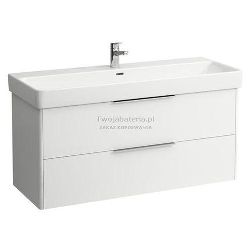 Laufen base szafka podumywalkowa 116 cm biały połysk h4024921102611