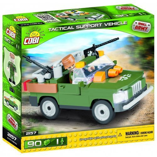 Small Army 90 elementów Pojazd wsparcia taktycznego