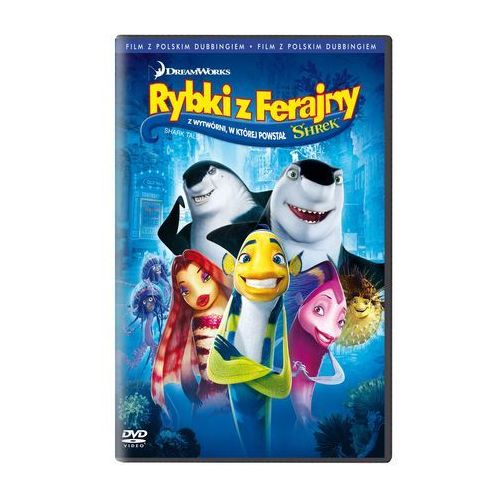 OKAZJA - Rybki z Ferajny (DVD) - Rob Letterman, Bibo Bergeron