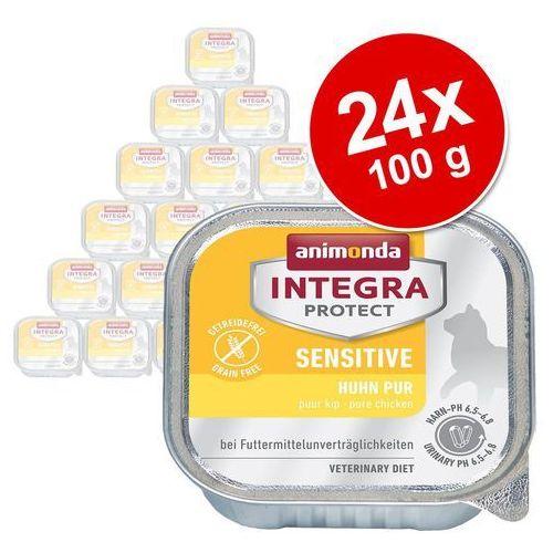 integra protect sensitive dla kota - z jagnięciną i ryżem tacka 100g wyprodukowany przez Animonda