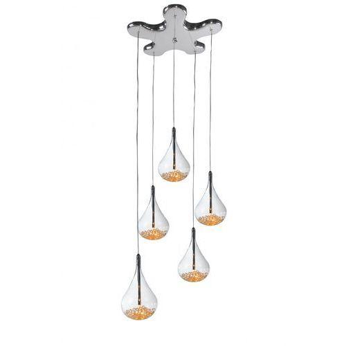 Lampa wisząca perle 5x20w g4 p0226-05b zuma line marki Zumaline