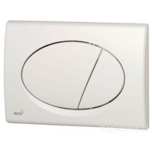 Przycisk spłuczki podtynkowej, biały M70