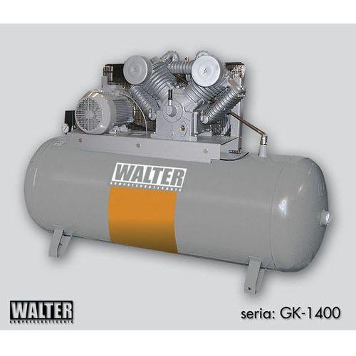 WALTER Sprężarka tłokowa GK 1400-7,5/500 PRAWDZIWE RATY 0% + DOSTAWA GRATIS
