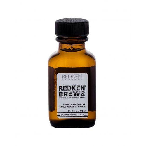 Redken brews beard and skin oil olejek do zarostu 30 ml dla mężczyzn