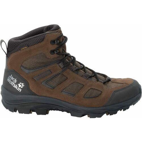 Jack Wolfskin buty trekkingowe męskie Vojo 3 Texapore Mid 40 brązowe