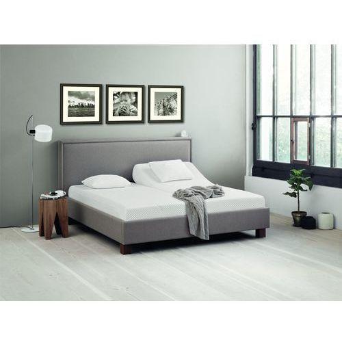 DlaSpania Kantata II - tapicerowane łóżko (skóra naturalna) z pojemnikiem 140x200 cm