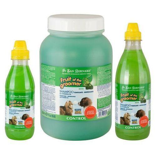 Iv san bernard - odświeżający szampon miętowy, do każdego typu szaty 3,25l (8022767001641)