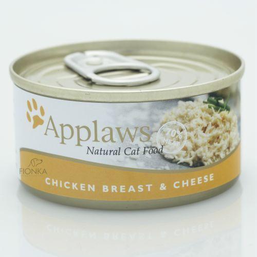 chicken & cheese karma dla kotów kurczak z serem puszka marki Applaws