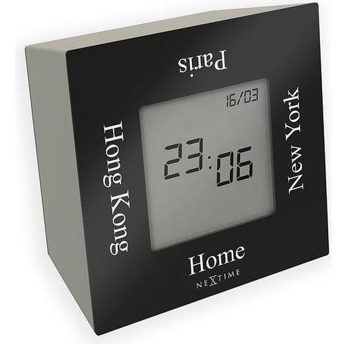 Zegar stołowy Turn4Time czarny, 5190ZW