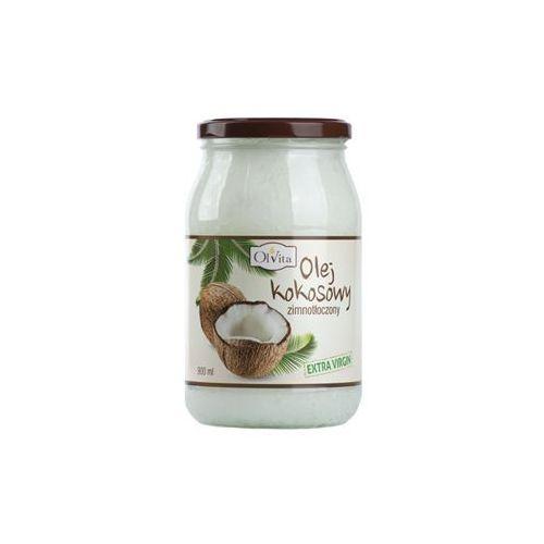 Olej kokosowy tłoczony na zimno 900 ml  marki Olvita