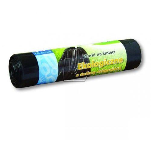 Stella Worki 60l a10 ldpe ekologiczne z taśmą czarne (5903936004256)