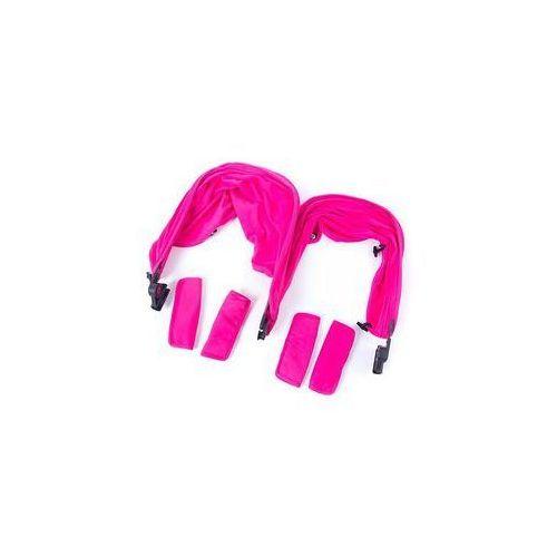 Zestaw kolorystyczny z budk� odwracaln� do w�zka Baby Monsters (pink), BMT3.0S-004