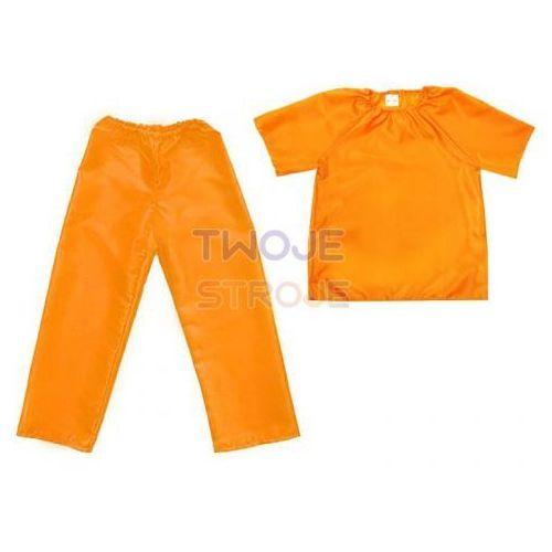 Twojestroje.pl Zestaw bluzka i spodnie pomarańczowy [s]
