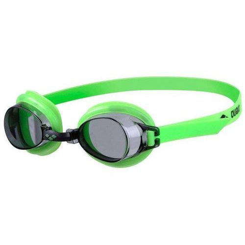 Okulary bubble jr iii lime-smoke marki Arena