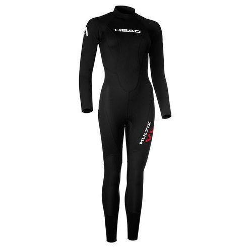 Head Multix VL Multisport 2,5 Kobiety czarny L 2018 Pianki do pływania