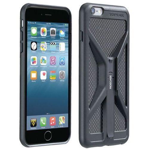 Topeak RideCase do iPhone 6/6S/7 z uchwytem czarny 2018 Akcesoria do smartphonów