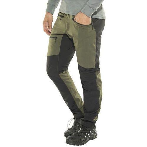 Haglöfs Rugged Flex Spodnie długie Mężczyźni oliwkowy L 2018 Spodnie turystyczne