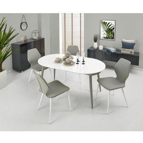 Rozkładany stół crispin z lakierowanym blatem marki Halmar