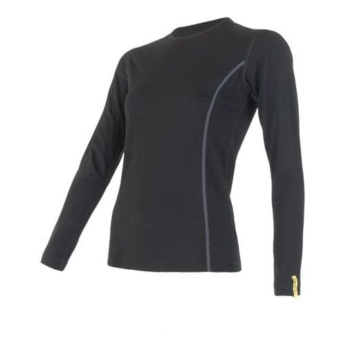 Sensor koszulka termoaktywna z długim rękawem Merino Wool Active W black M (8595233889321)