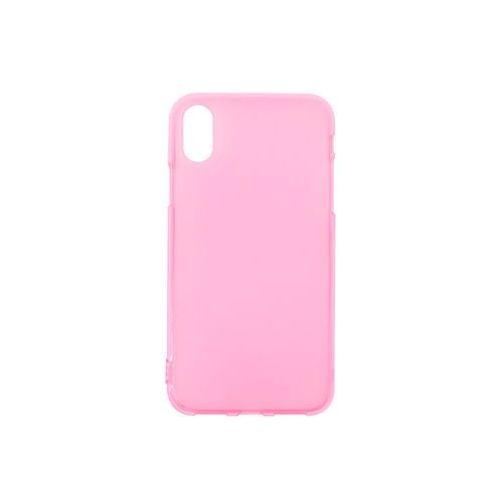 Apple iPhone XS - etui na telefon FLEXmat Case - różowy