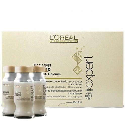 L'Oréal Professionnel Série Expert Absolut Repair Lipidium Powerdose - Kuracja do Włosów Zniszczonych Ampułki 30x 10ml (3474630641228)