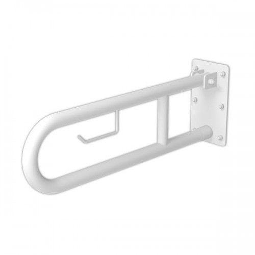 Poręcz dla niepełnosprawnych łukowa uchylna 50 cm fi 32 cm marki Makoinstal