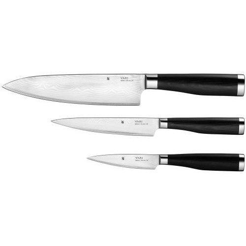 yari zestaw noży 3szt. stal damasceńska marki Wmf