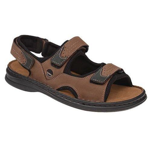 Sandały JOSEF SEIBEL 10236 11 341 Brasil/Schwarz Franklyn Brązowe - Brązowy ||Czarny, kolor brązowy