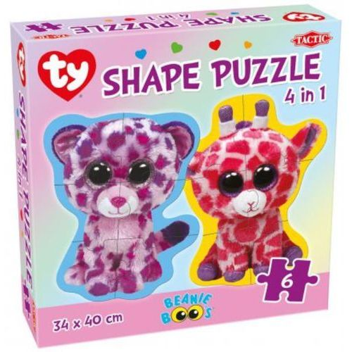 Puzzle ty 4w1 beanie boo's shape marki Tactic
