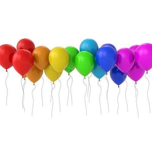 Balony lateksowe pastelowe mix kolorów - średnie - 100 szt.