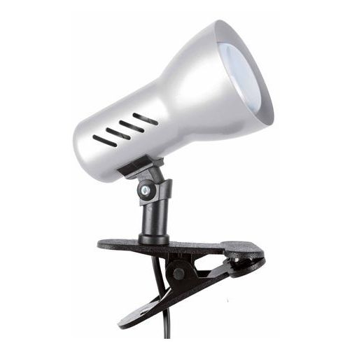 Spotlight Lampa stołowa lampka klips spot light clamspot 1x40w e14 tytan 2120127k (5907795172583)