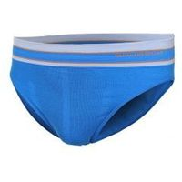 slipy termoaktywne męskie 1st layer active wool (niebieski) (be10110) marki Brubeck
