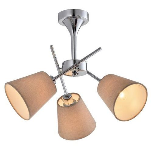 Candellux Vox 33-70623 plafon lampa sufitowa 3x40W E14 chrom, 33-70623