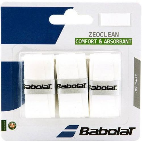 Owijka Babolat ZeoClean x3 Biały 130585, 130585