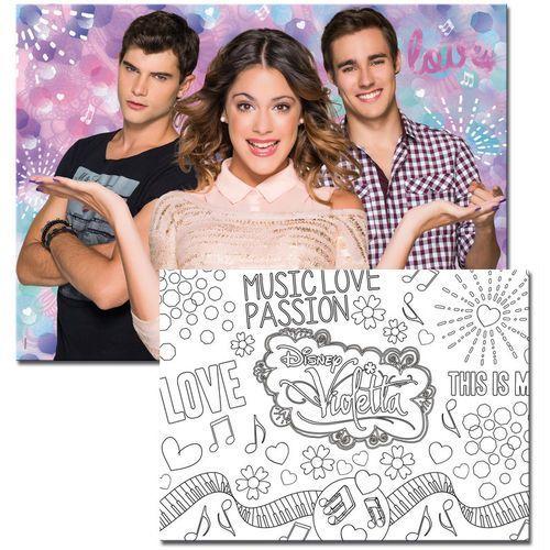 Lisciani , puzzle dwustronne maxi violetta (8008324043552)