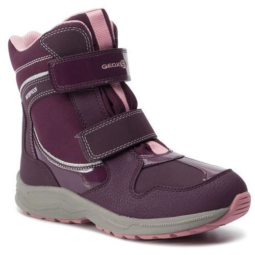 Śniegowce GEOX - J N. Alaska G. B Wpf A J948BA 050FU C8224 D Purple/Pink, kolor fioletowy