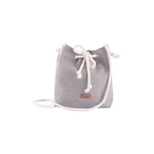 Me&bags Torba small basic z tkaniny beżowa