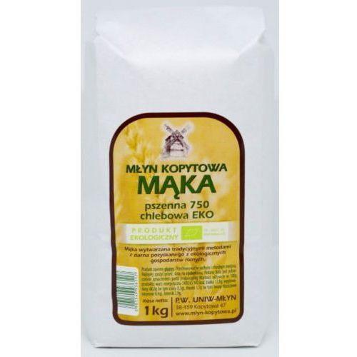 Mąka pszenna chlebowa Typ 750 BIO 1kg - Młyn Kopytowa (5901549936117)
