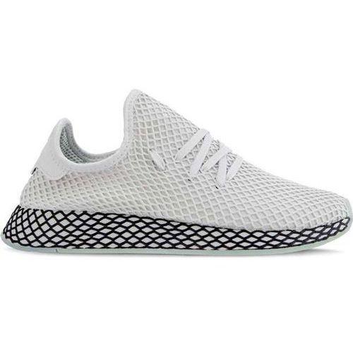 Adidas DEERUPT RUNNER GREY ONE GREY ONE CLEAR MINT - Buty Męskie Sneakersy