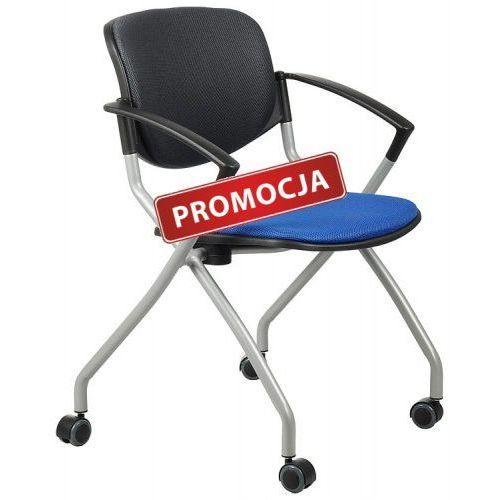 Krzesło konferencyjne HN-3139/NIEBIESKI-grafit krzesło biurowe