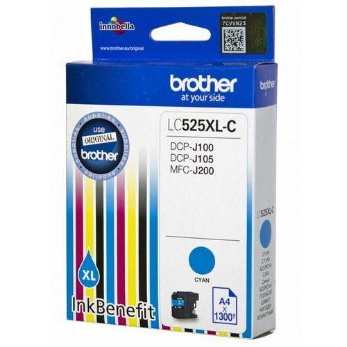 BROTHER Tusz Niebieski LC525XLC=LC-525XLC, 1300 str.- wysyłka dziś do godz.18:30. wysyłamy jak na wczoraj!, LC525XLCAP2