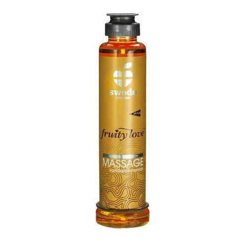 Balsam owocowy do masażu - Swede Fruity Love Massage wanilia i cynamon 200ml
