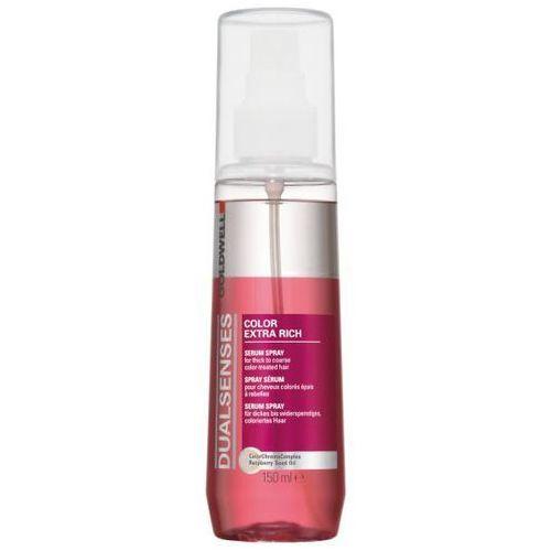 dualsenses color extra rich serum do włosów farbowanych (serum spray for thick to coarse hair) 150 ml marki Goldwell