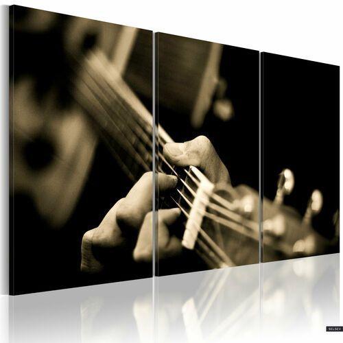 SELSEY Obraz - Magiczny dźwięk gitary 120x80 cm (5902622538075)