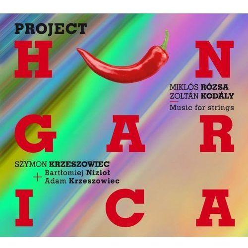Project Hungarica (CD) - Szymon Krzeszowiec, Bartłomiej Nizioł, Adam Krzeszowiec (5902176502263)
