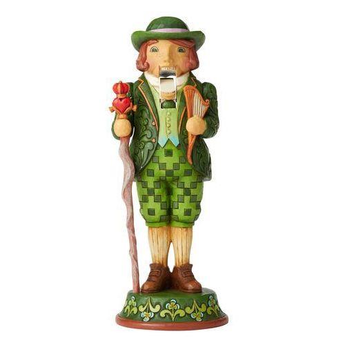 Jim shore Kolekcjonerski dziadek do orzechów i'm quite charming (irish nutcracker figurine) 6004244 figurka ozdoba świąteczna