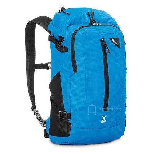 Pacsafe Venturesafe X22 plecak antykradzieżowy na laptopa 13'' / Black - Hawaiian Blue