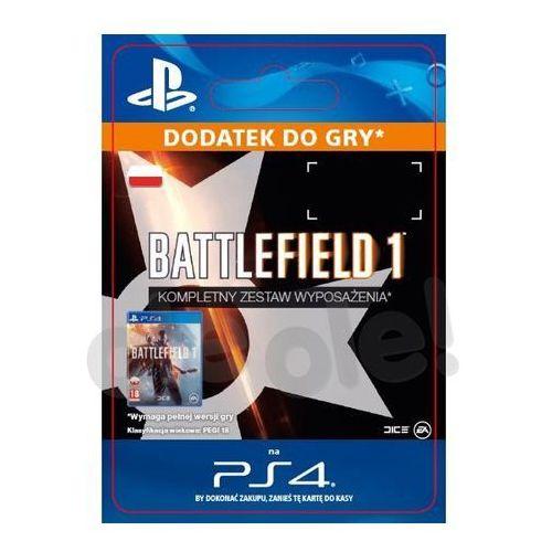 Battlefield 1 - kompletny zestaw wyposażenia [kod aktywacyjny] marki Sony